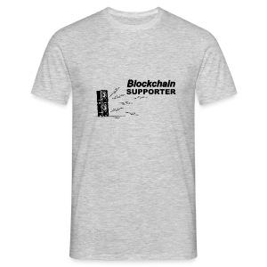 Blockchain Supporter - Men's T-Shirt