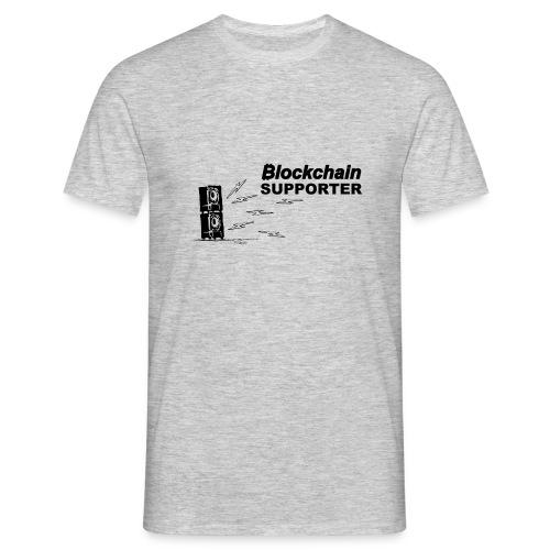 Blockchain Supporter - T-shirt Homme