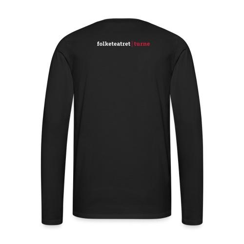 Langærmet T-shirt Tour - Herre premium T-shirt med lange ærmer