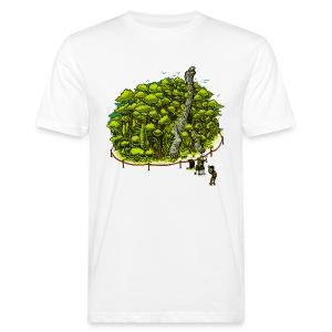 Peachbeach Riesenschildkröte - Männer Bio-T-Shirt