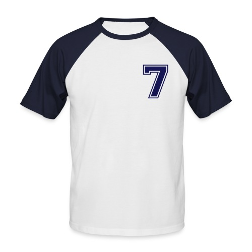 NUMBER 7 - Men's Baseball T-Shirt