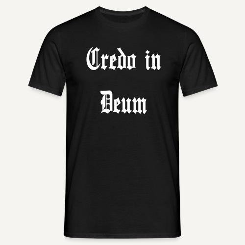 Credo in Deum - Koszulka męska