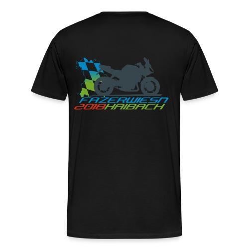 Männer Shirt Schwarz - Männer Premium T-Shirt