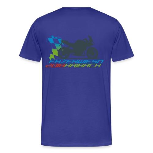 Männer Shirt Blau - Männer Premium T-Shirt