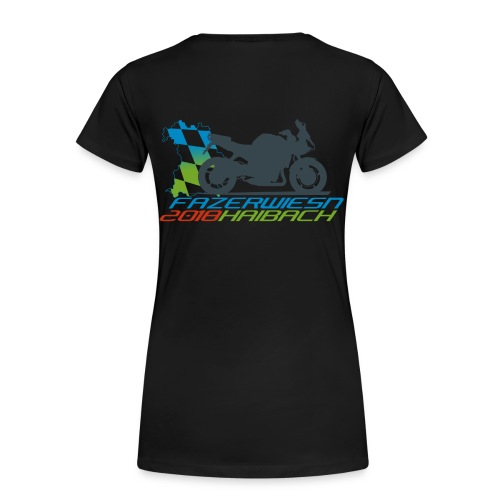 Frauen Shirt Schwarz - Frauen Premium T-Shirt