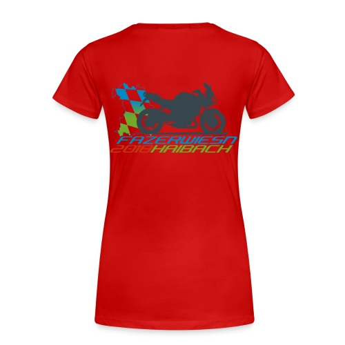 Frauen Shirt Rot - Frauen Premium T-Shirt