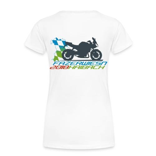 Frauen Shirt Weiß - Frauen Premium T-Shirt