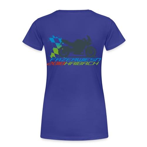 Frauen Shirt Blau - Frauen Premium T-Shirt