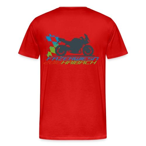 Männer Shirt Rot - Männer Premium T-Shirt