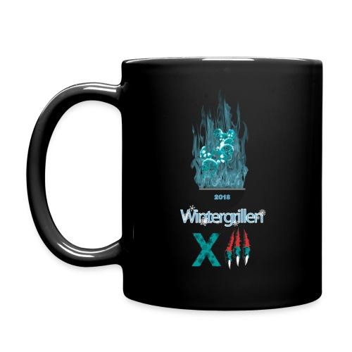 2018 Wintergrillen 13 Becher V2 - Tasse einfarbig