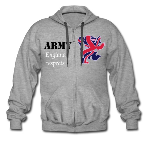 Army hoodie - Men's Premium Hooded Jacket