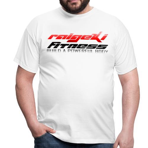 Raigeki Fitness Weiß - Männer T-Shirt