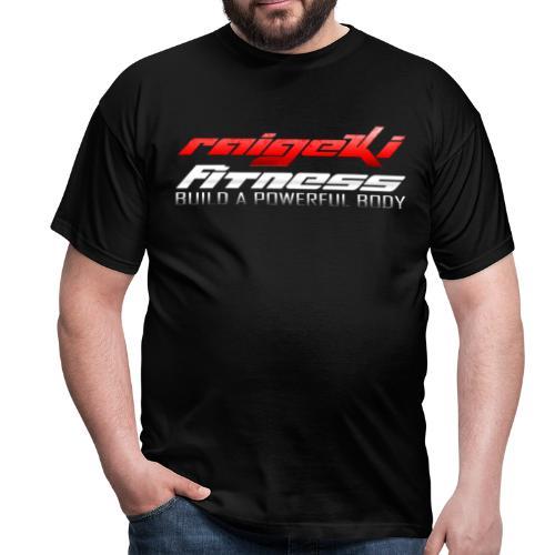 Raigeki Fitness Schwarz - Männer T-Shirt