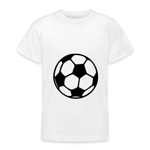 Barn t-shirt Fotboll - T-shirt tonåring