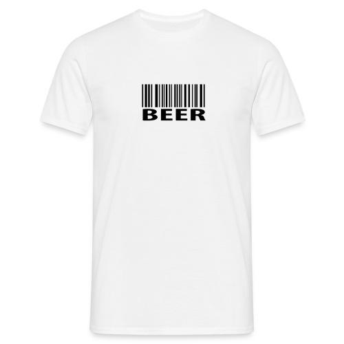 Barcode beer - Men's T-Shirt