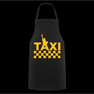 Sort New York Taxi 1 (2c, NEU) Forklæder