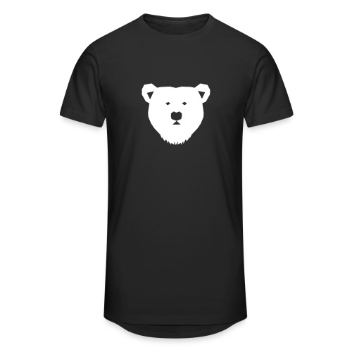 Bear T-Shirt - Men's Long Body Urban Tee