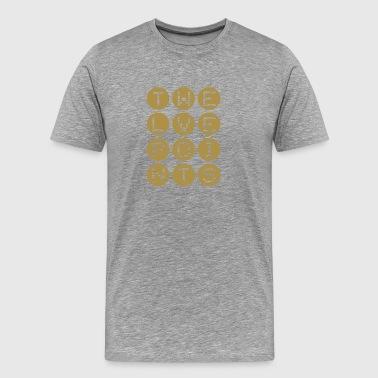 Twelve Points #3 Gold-metallic-Shirt - Männer Premium T-Shirt