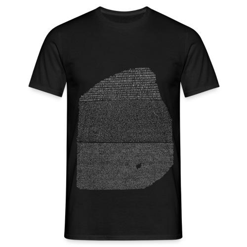 Pierre de rosette - T-shirt Homme