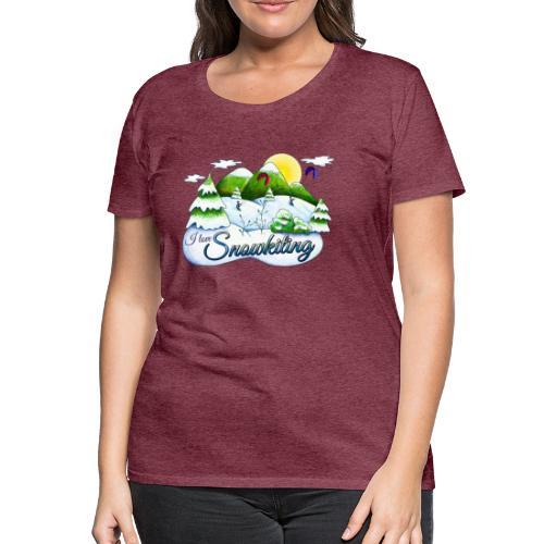 Snowkiting T-Shirt Mädls - Frauen Premium T-Shirt