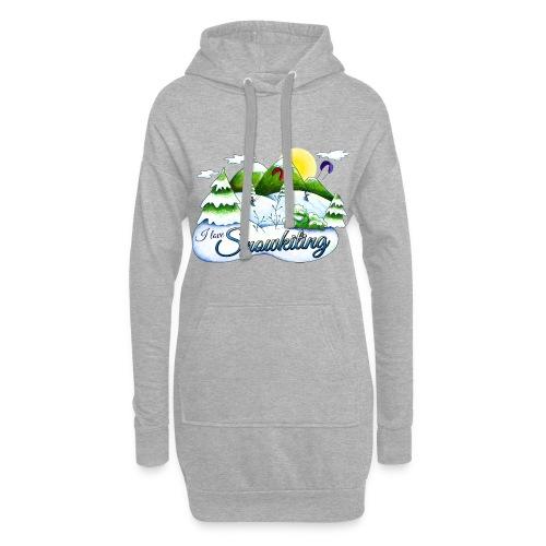 Snowkiting Pulloverkleid - Hoodie-Kleid