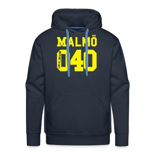 Malmö 040 Hood - Premiumluvtröja herr