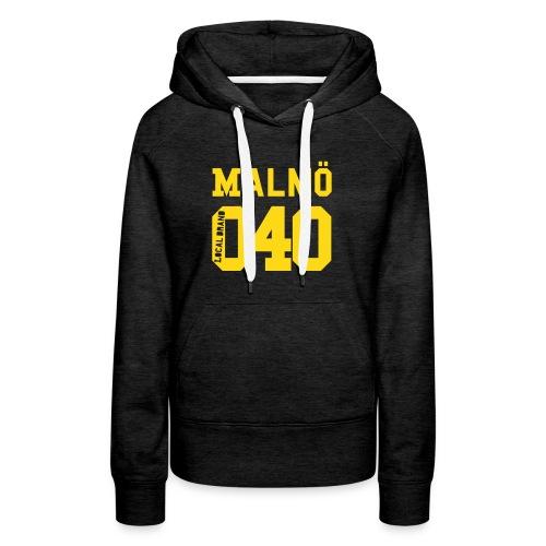 Malmö 040 Hood - Premiumluvtröja dam