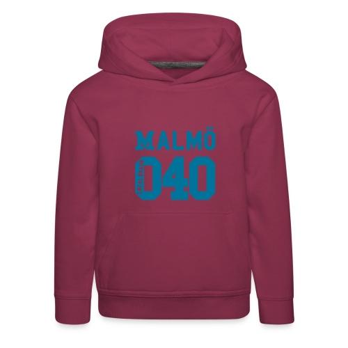 Malmö 040 JR Hood - Premium-Luvtröja barn