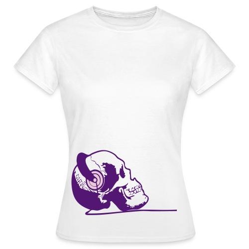 Pink Skull Frauen Shirt - Frauen T-Shirt