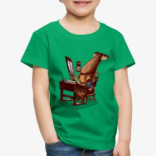 Squid Writer - Kids' Premium T-Shirt