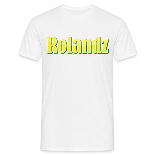 Rolandz - T-Shirt Vit - T-shirt herr