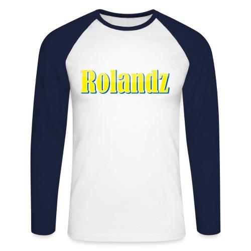 Rolandz - Långärmad T-Shirt - Långärmad basebolltröja herr