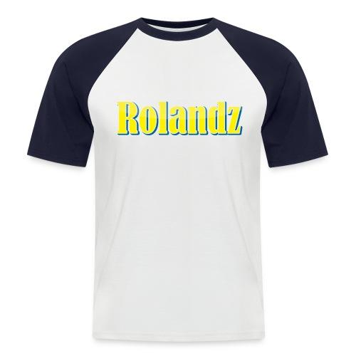 Rolandz- VIP T-Shirt - Kortärmad basebolltröja herr