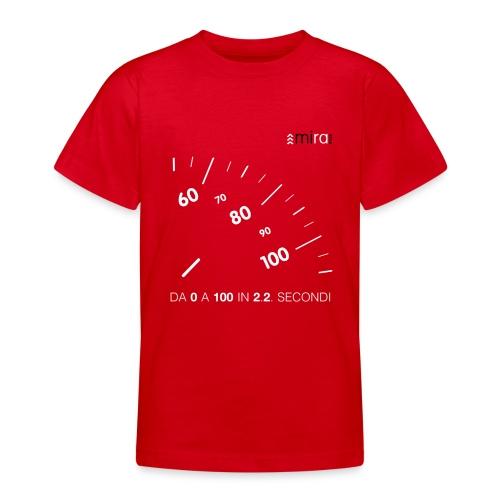 Da 0 a 100 Red - Maglietta per ragazzi