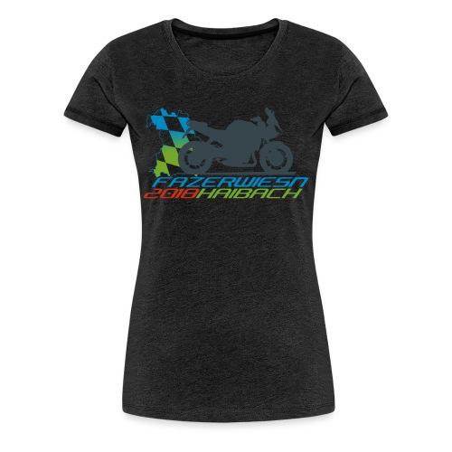 Frauenshirt - Leithammel + Fazerwiesn 2018 - Frauen Premium T-Shirt