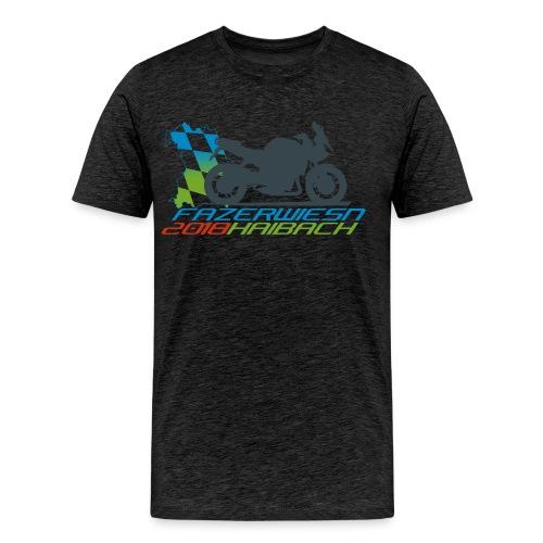 Männershirt - Leithammel + Fazerwiesn 2018 - Männer Premium T-Shirt
