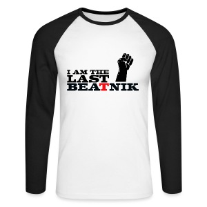 The Last Beatnik - Men's Long Sleeve Baseball T-Shirt