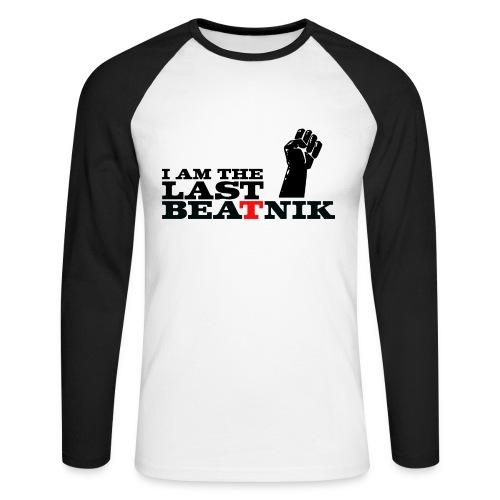 The Last Beatnik - Men's Long Sleeve Baseball T-Shirt