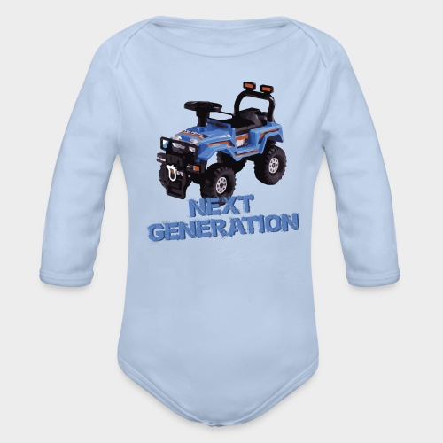 Next Generation Offroader - Baby-Strampler - Baby Bio-Langarm-Body