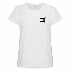 Oversize Shirt Damen - Frauen Oversize T-Shirt