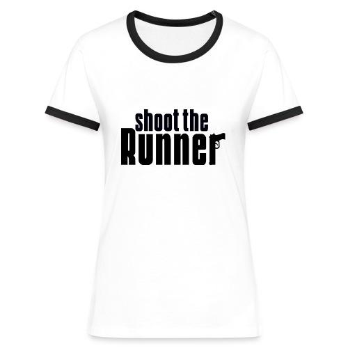 Shoot The Runner - Women's Ringer T-Shirt