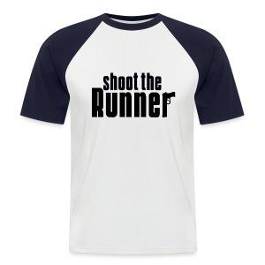 Shoot The Runner - Men's Baseball T-Shirt