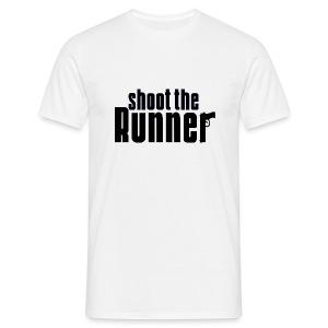 Shoot The Runner - Men's T-Shirt