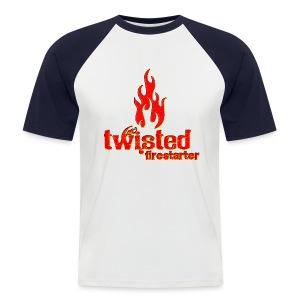 Twisted Firestarter - Men's Baseball T-Shirt
