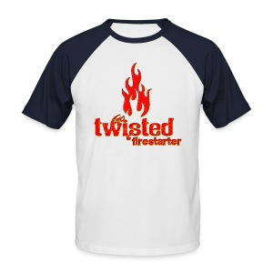 Twisted Firestarter - Men's Baseball T-Shirt