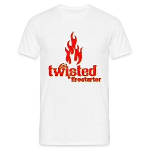 Twisted Firestarter - Men's T-Shirt