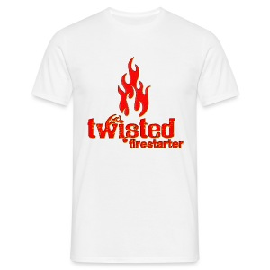 Twisted Firestarter - Men's T-Shirt