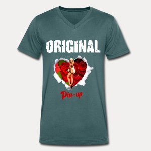 T-shirt Homme Original Pin-Up - T-shirt bio col V Stanley & Stella Homme
