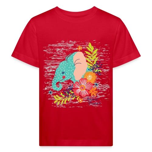 Elefant - Kinder Bio-T-Shirt