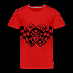 Kinder Premium T-shirt met zuigers - Kinderen Premium T-shirt
